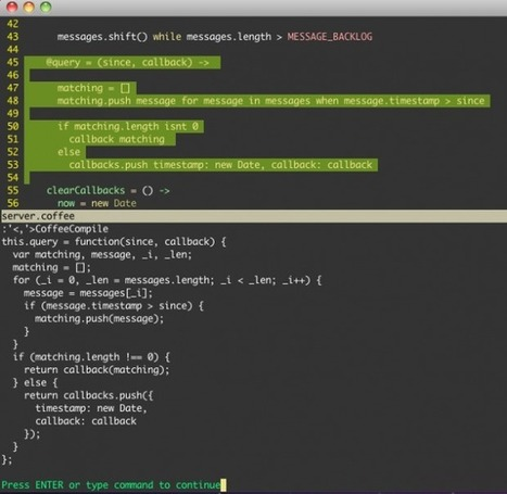 How to make node.js, CoffeeScript and Jasmine play nice withVim | javascript.js | Scoop.it