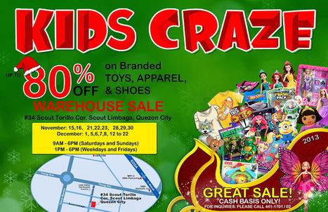 9e29e5528a5f6a Kids Craze Warehouse Sale 2013