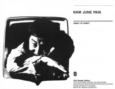 Nam June Paik: Family of Robot, catalogue (1986) | Emergent Digital Practices | Scoop.it