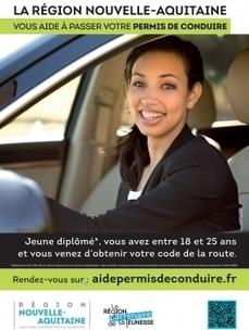 Permis de conduire : la Région peut vous aider | COMUE Aquitaine | Scoop.it