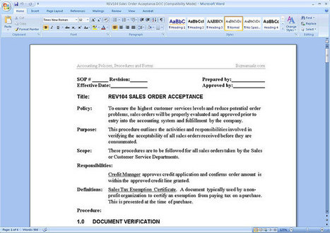 Policies, Procedures And Processes, Page 4 | Scoop.It