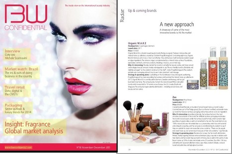 BW Confidential - Issue #16 - November/December 2013 - Radar Up-and-coming brands | Beauty Push, bureau de presse | Scoop.it