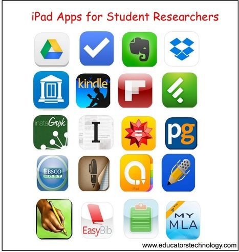 20 Must-have iPad Apps for Student Researchers and Academics | Exploring research and inquiry for effective learning | Scoop.it