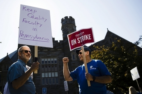 Faculty Strike Throws Pennsylvania's State-Owned Colleges Into 'Organized Chaos' | SCUP Links | Scoop.it