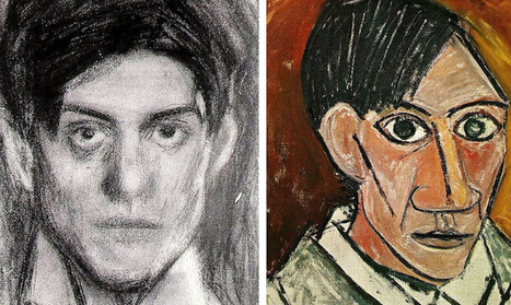 #Evolution of #Picasso's Iconic #Self-Portraits From Age 15 to 90. #art #painting #drawing  | Luby Art | Scoop.it