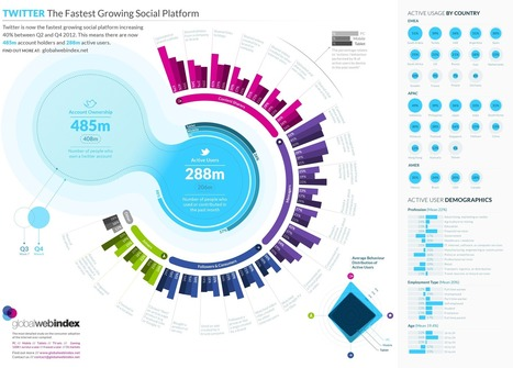 Twitter: The World's Fastest-Growing Social Platform [INFOGRAPHIC]... | ...Music Festival News | Scoop.it