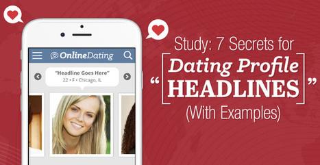 Goede headline voor mijn online dating profiel