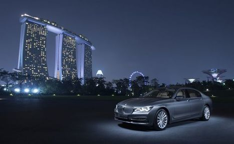 Why the new #BMW #7 #Series is the perfect limo for tech savvy elites — Kopitiam @Barkinet #fb | Me&Ubuntu | Scoop.it