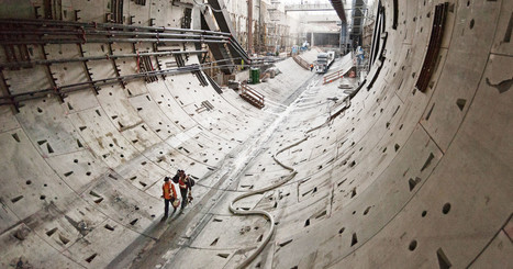 Fly Through the Massive Tunnel They're Carving Under Seattle | Strange days indeed... | Scoop.it