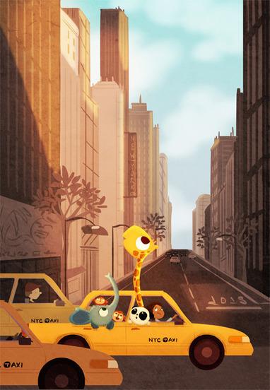 { Today I ♥ } Les illustrations de Nidhi Chanani | DecoCrush blog déco, idées déco | décoration & déco | Scoop.it