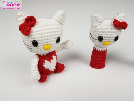 Yaseminkale: amigurumi hello kitty | 351x467