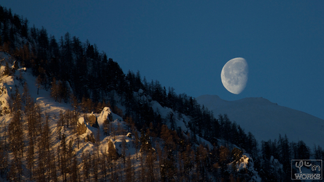 Moon over the Crest | pixels and pictures | Scoop.it