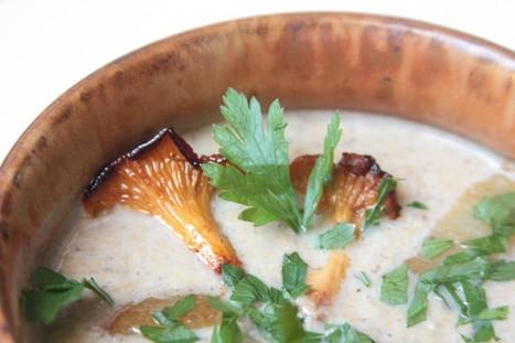 Velouté d'automne champignons et dés de poire : une recette de saison | Gastronomie et alimentation pour la santé | Scoop.it