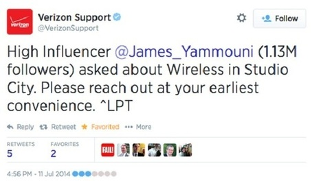 Verizon Is Twitter-Stalking Competitors' Angry Customers | Customer Excellence At Work | Scoop.it