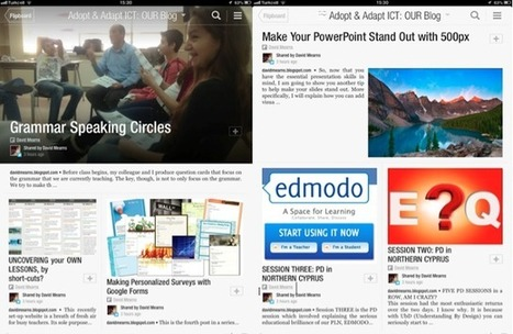 Adopt and Adapt ICT- ELT: FLIPBOARD: Make Your Own Class ...   ELTECH   Scoop.it