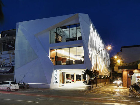 Uncommonly Shaped Building In Taiwan Inspired by The Famous Chinese Dragon Symbol | Extreme Architecture | News, E-learning, Architecture of the future at news.arcilook.com | Architecture news | Scoop.it