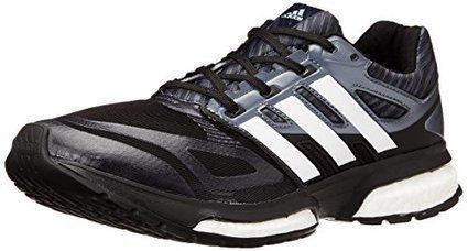 save off a3420 db2a2 adidas Performance Mens Response Boost Techfit M Running Shoe, Core  BlackMetallic SilverDark Orange, 8.5 M US