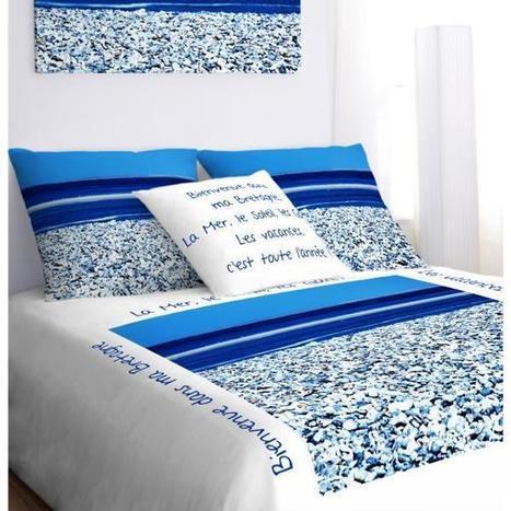 housse de couette th me marin p. Black Bedroom Furniture Sets. Home Design Ideas
