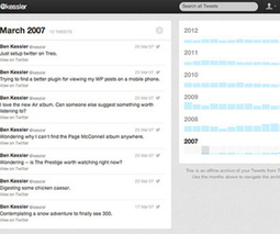 'Your Twitter Archive' rolling out   The Information Professional   Scoop.it