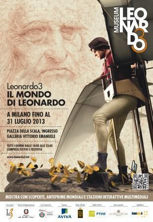 Must-See Exhibit in Milan: Leonardo3 – The World of Leonardo | Italia Mia | Scoop.it