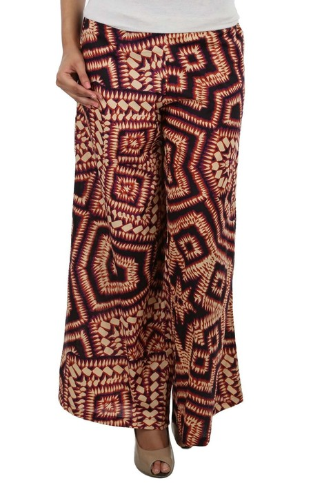 Multi Print Palazzo | Buy Palazzo Pants For Women Online | Fashion Of Indian | Scoop.it