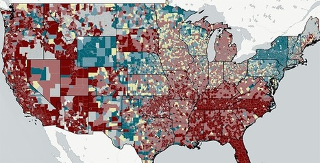 New Map: School Funding Inequality, Often Measured By State, Is Far Worse Nationally Than You Think | Spatial literacy | Scoop.it