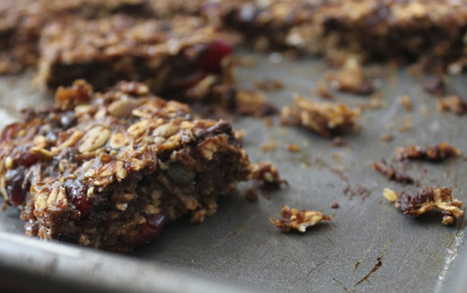 Homemade Choco-Nut Protein Bars   Recipes   Scoop.it