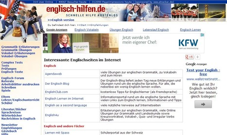 Englisch - Empfehlungen   21st Century Tools for Teaching-People and Learners   Scoop.it