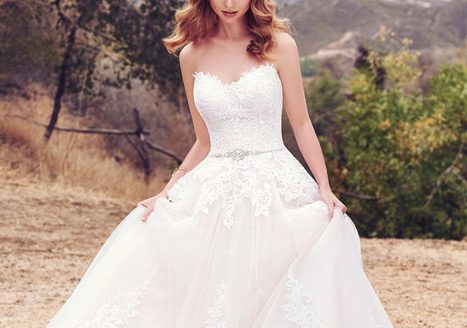 Modern Royalty Wedding Dresses Inspired By The
