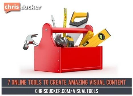 7 Online Tools to Help You Create Amazing Visual Content | Infographics in het onderwijs | Scoop.it