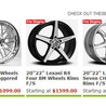 Wheels and Rims for Car