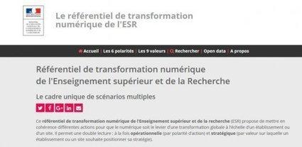 Référentiel de transformation numérique de l'Enseignement supérieur et de la Recherche - Innovation Pédagogique | Les TIC : des outils et des pratiques pédagogiques | Scoop.it