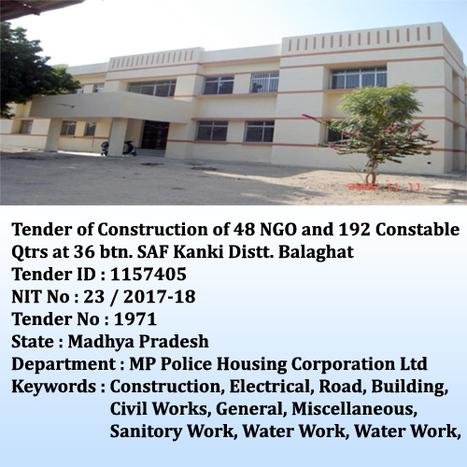 Civil Works Tenders' in Tender Information, Page 2 | Scoop it