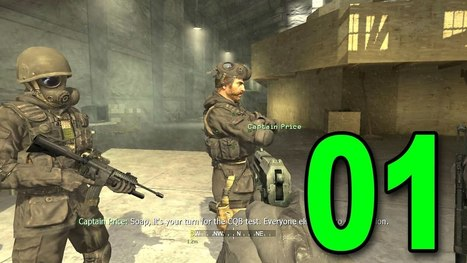 Call Of Duty 4 Part 1 Fng Lets Play