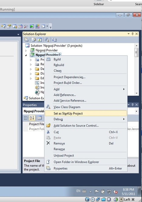 Npgsql: DDEX Support! Create your EDMX from your PostgreSQL Database.   .NET API-Libraries-Tools   Scoop.it