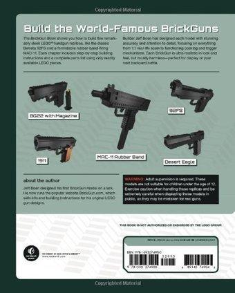 Badass Lego Guns Building Instructions For Five