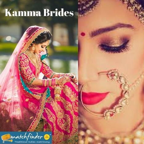 Kamma Brides | Matchfinder Online Services Pvt