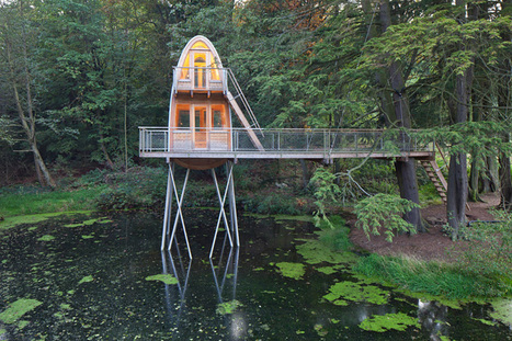 Nature Architecture 2014 : 10 Select Cabins, Treehouses and Hideaways Around the World | The Blog's Revue by OlivierSC | Scoop.it