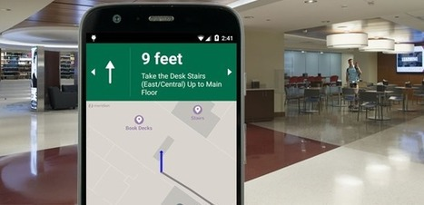 Beacon-powered app helps students navigate university library -- GCN | Professional development of Librarians | Scoop.it