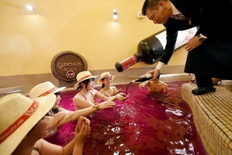 The Beaujolais Nouveau bath - Big in Japan! | Quirky wine & spirit articles from VINGLISH | Scoop.it