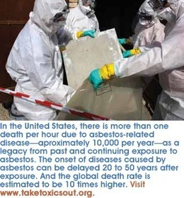 Asbestos: TSCA's biggest failure by Safer Chemicals Healthy Families | Asbestos and Mesothelioma World News | Scoop.it