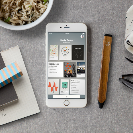 Paper & Pencil by FiftyThree | m-learning, mobile Learning, Teaching and Learning on the Go | Scoop.it