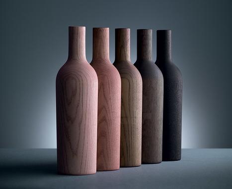Le bois de la collection de meubles dinn! est teinté avec différents vins | inoow design lab | Scoop.it