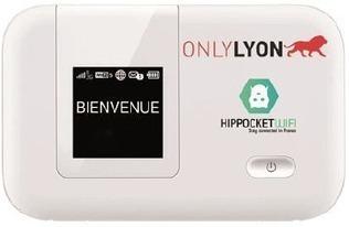 Lyon : une solution de connexion WiFi de poche proposée aux visiteurs   veille Etourisme Animation numérique de Territoire   Scoop.it
