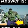 Hulk's Pants