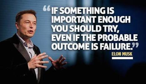 Frugal Business by Mike Schiemer: 8 Great Elon Musk Business Quotes | Elastic Enterprise | Scoop.it