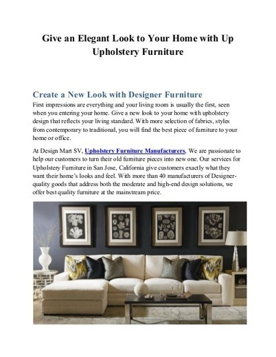 Upholstery Furniture Manufacturers | Upholstery Furniture Stores |  Wholesale Designer Furniture | Furniture Suppliers For Interior