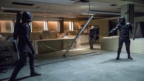 Prometheus Attacks in Arrow Episode 5.09 Photos   ARROWTV   Scoop.it
