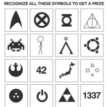 Recognize All These Symbols and Get a Prize   Visual.ly   Symbols, HOW DO THEY WORK?!   Scoop.it