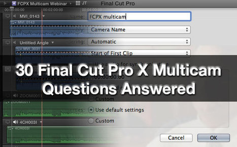 30 Final Cut Pro X Multicam Webinar Questions Answered | DSLR video and Photography | Scoop.it